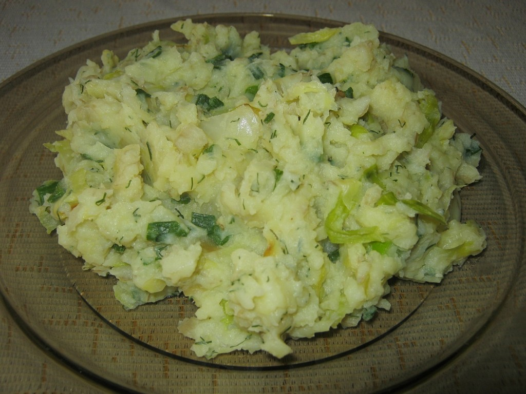 Colcannon- czyli ziemniaki z kapustą