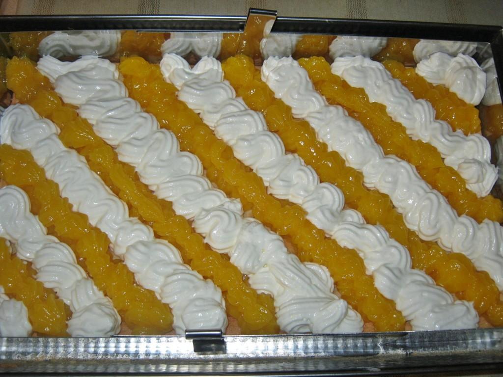 Ciasto serowo brzoskwiniowe00