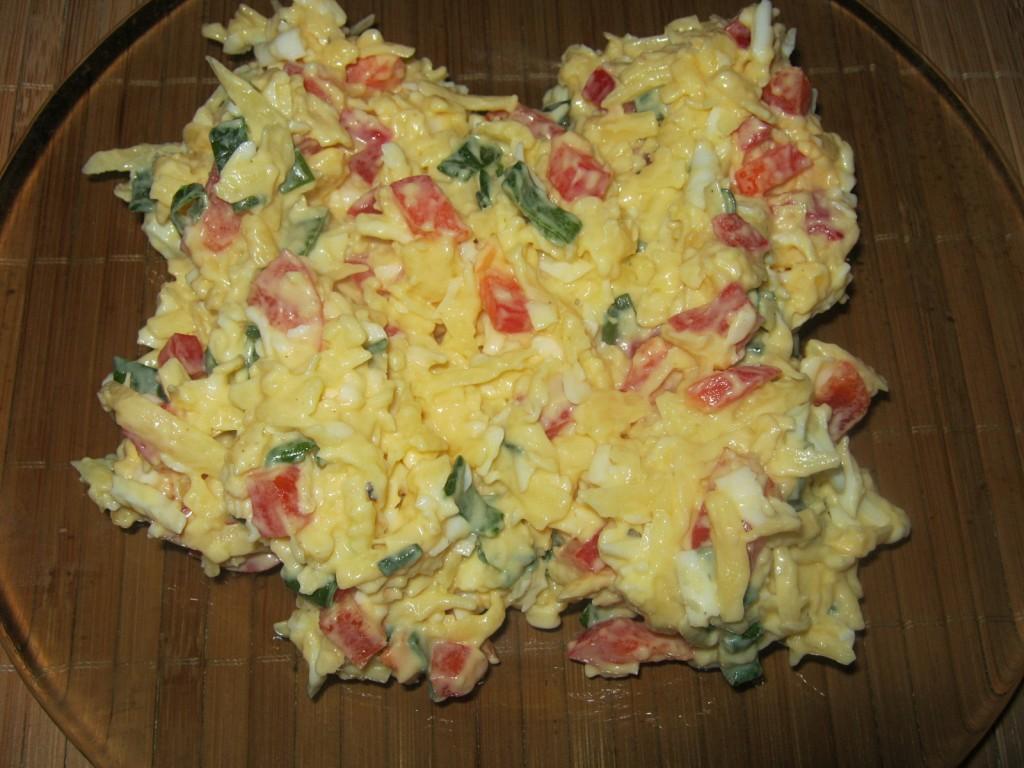 Pasta serowa z jajkiem2