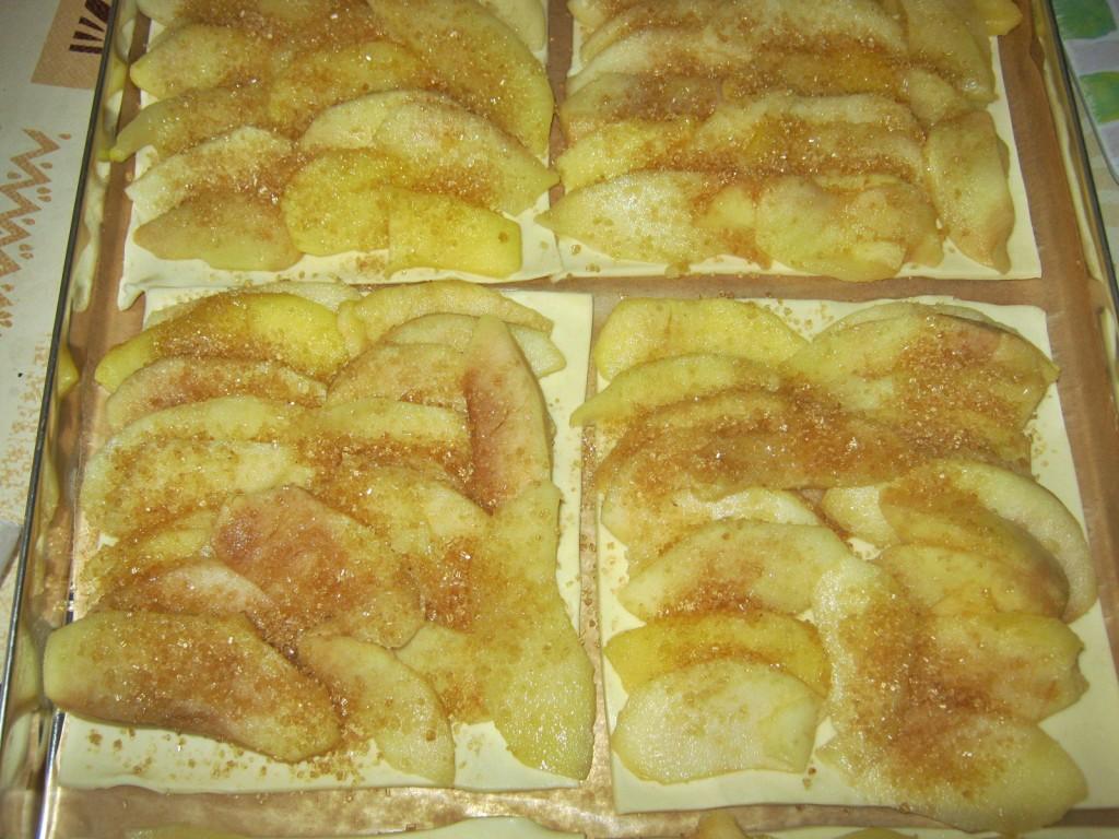 Tarta jabłkowa na cieście francuskim3