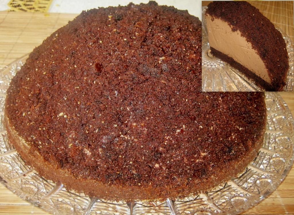 Tort czekoladowa kopuła