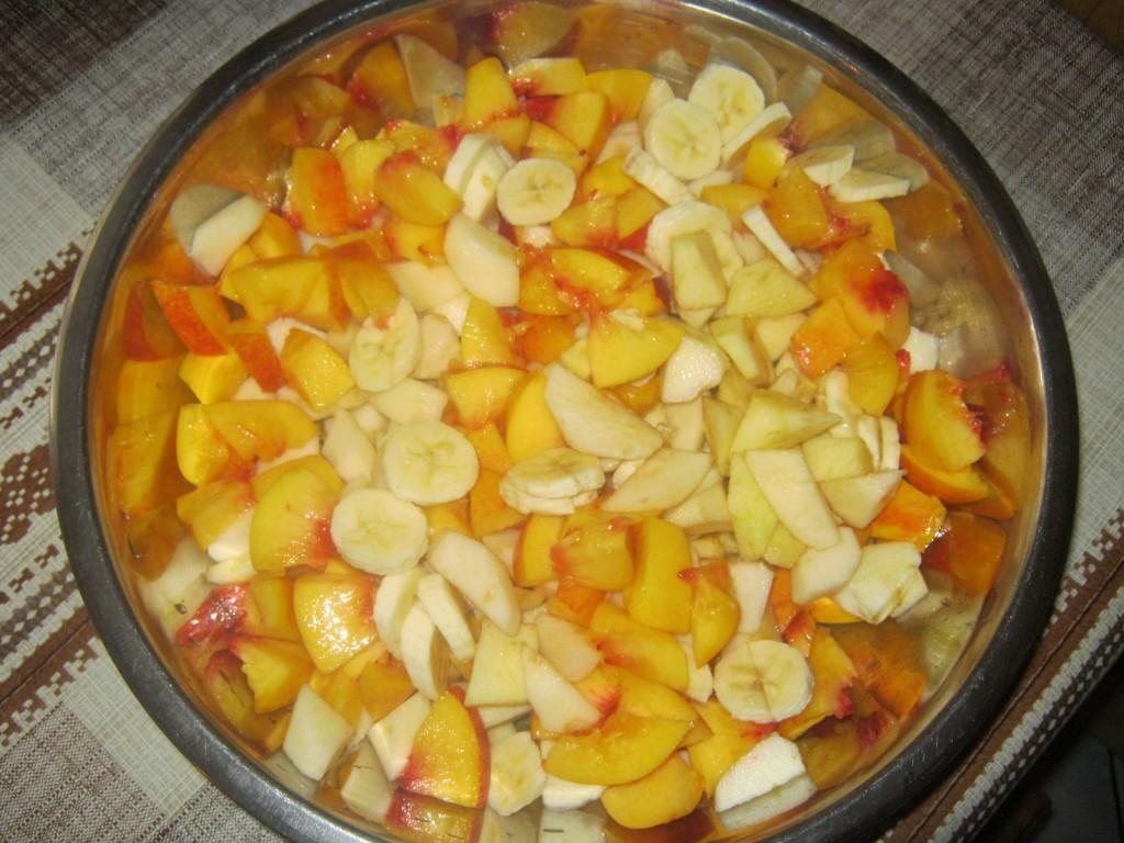 Placek owocowy bez tłuszczu-bardzo mokry2
