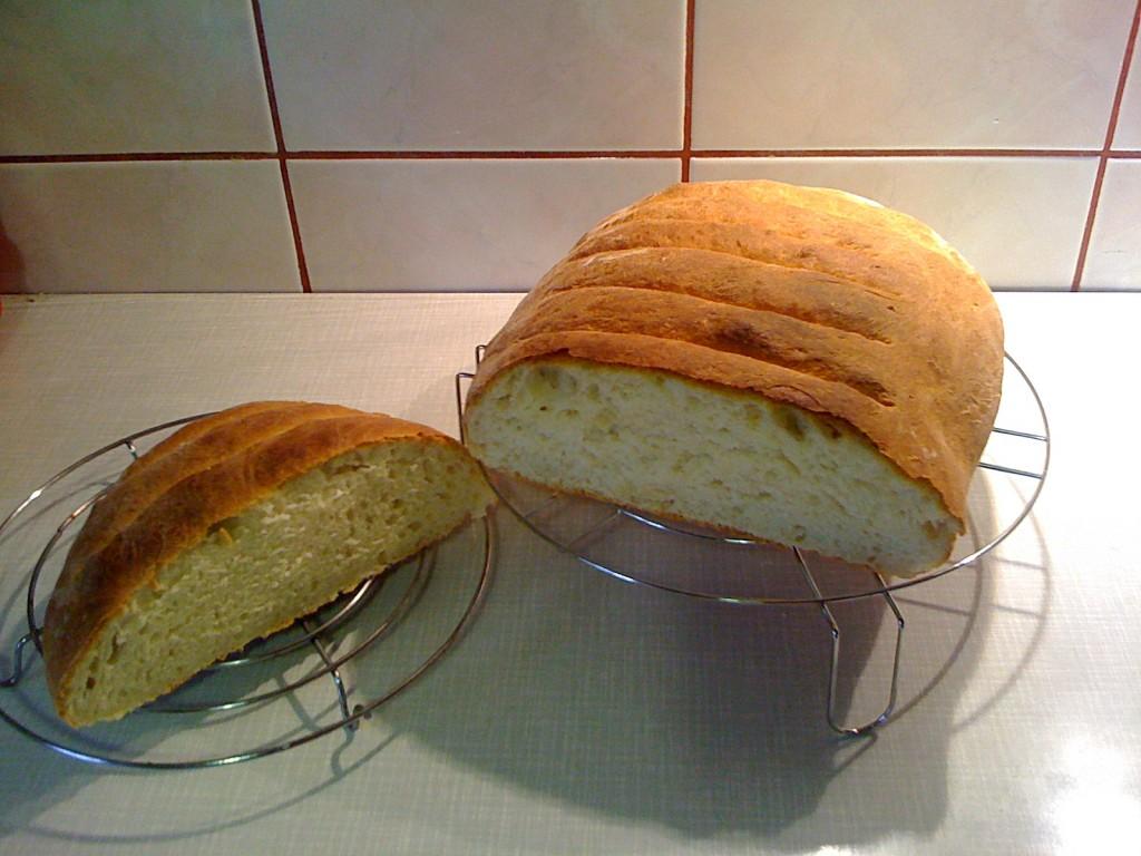 Chleb pszenny bez zakwasu,szybki, prosty i bardzo miękki2