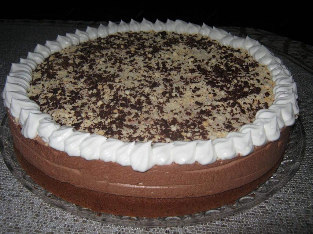 Tort czekolad