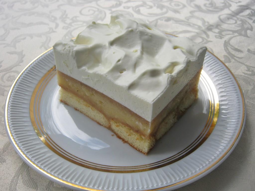 Ciasto bananowo cytrynowe