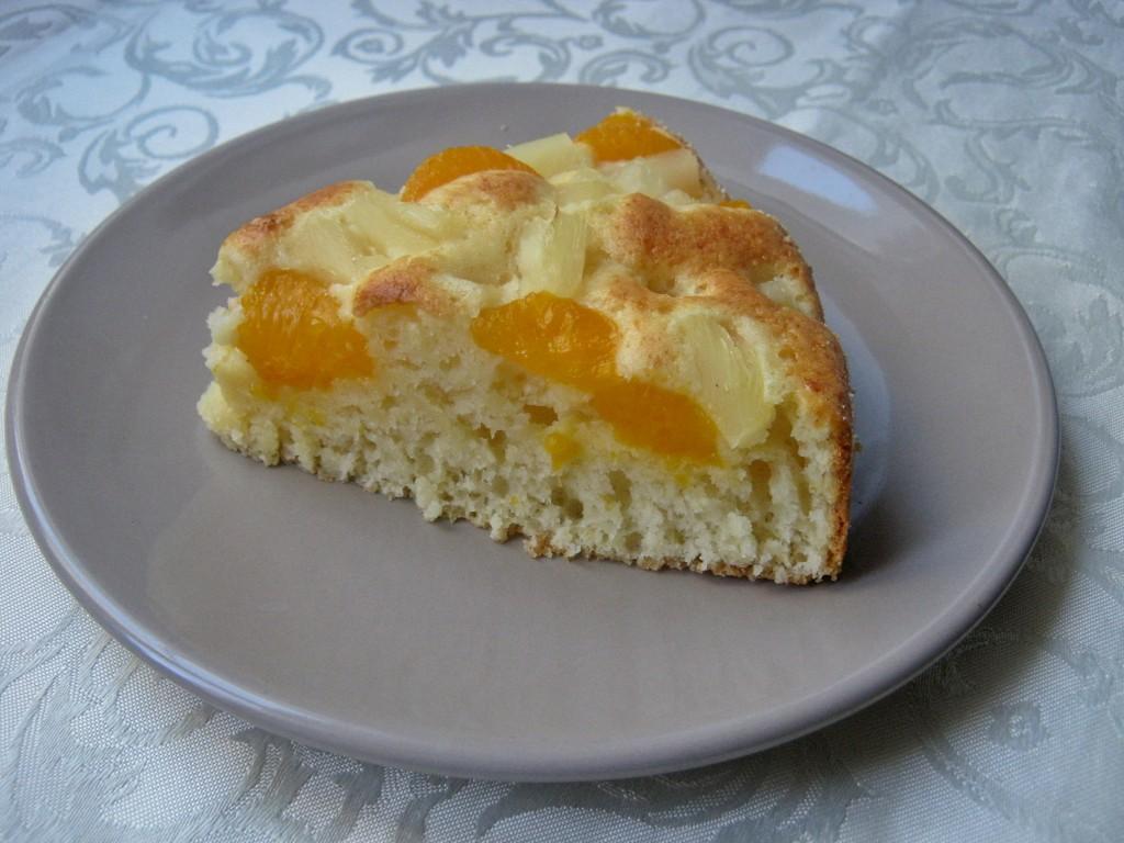 Lekkie i szybkie ciasto z owocami6